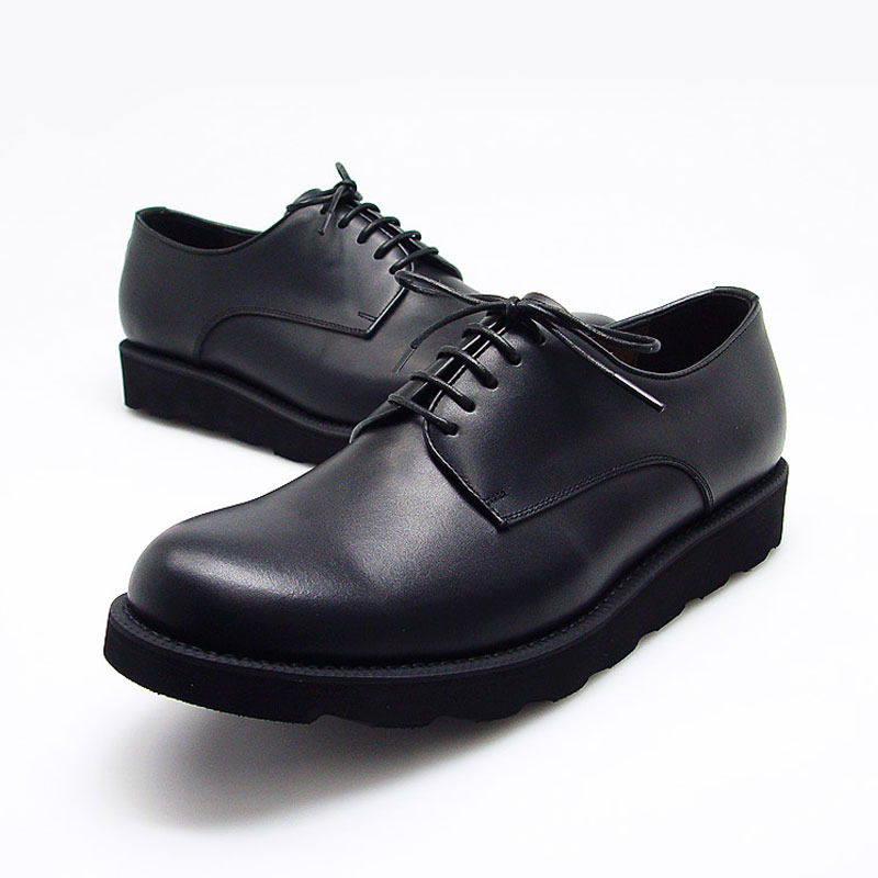 URBAN TREKKER Black Derby Shoes (4WD 5371 SBB)
