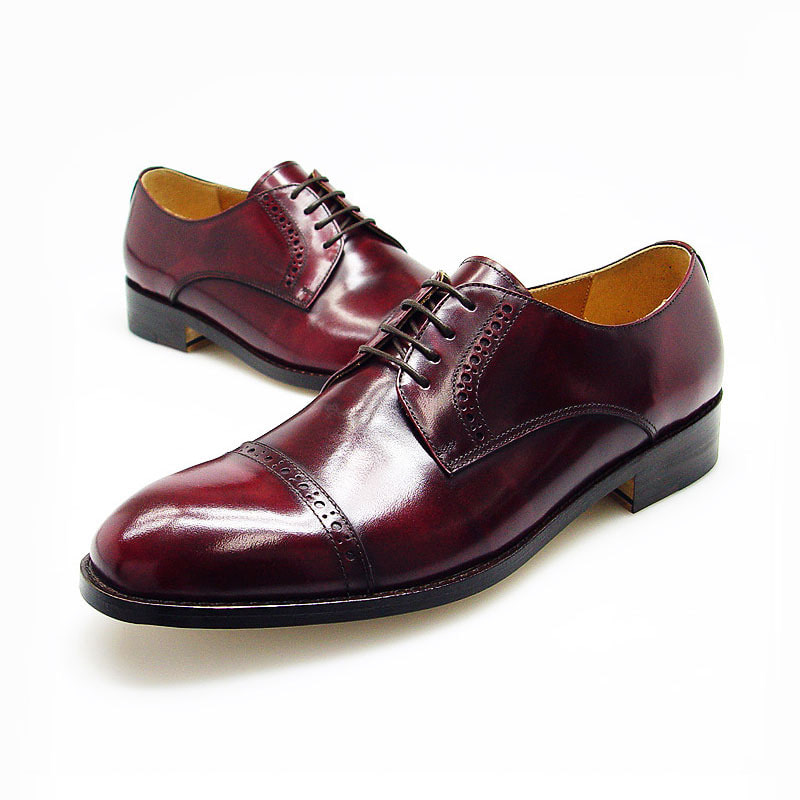 URBAN CLASSIC Leather Sole Captoe Shoes (5RX 5428 LCW)