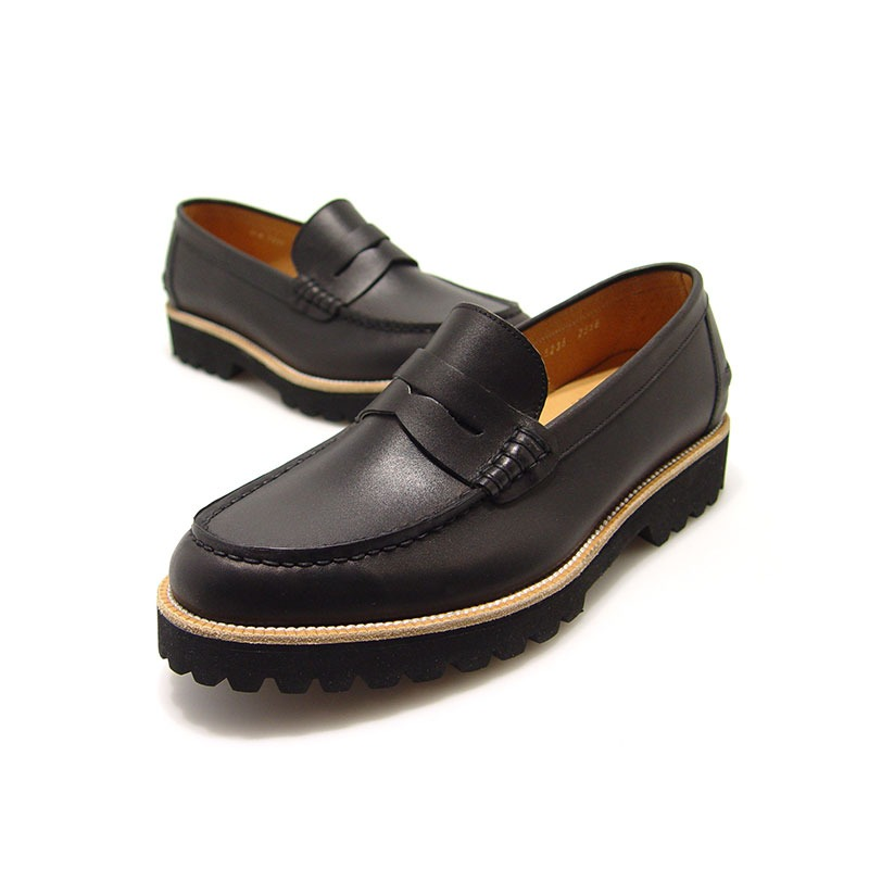 URBAN TREKKER Casual Black Loafer(4RX 5238 SBK)