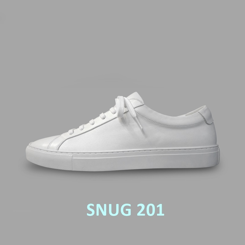 SNUG 201  White Sneakers (XMM 3001 CMW)