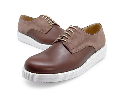 MOVLON U.TREKKER White Derby Shoes (4WD  5371 SCW)