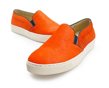 URBAN TREKKER Orange Unborn  Calf Slip-On (4RX 5335 CUO)
